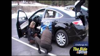 2012 Honda Accord vs Mazda 6. Ford Fusion, and Toyota Camry Ride and Drive Challenge Phase