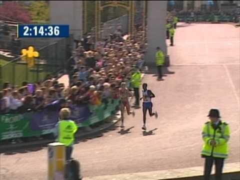 Paula Radcliffe-Marathon WR,2003