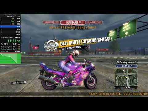 Bike 100% WR in 2:37:20 - Burnout Paradise