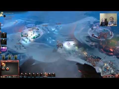 Warhammer 40 000 Dawn of War III — Gameplay Mission Demo HD |