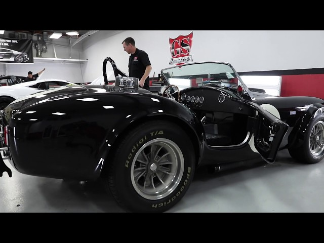 Ford Cobra (1962) Replica Paint Protection Film Install by Ghost Shield Film in Thousand Oaks, Ca