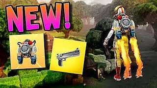 *NEW* Jetpack in Fortnite Battle Royale // Gold Game Mode!