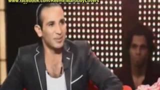 احمد سعد يعلن خطوبتة على ريم البارودى