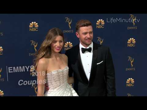 Emmys 2018 Couples: Jessica Biel and Justin Timberlake, Scarlett Johansson and Colin Jost and More