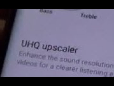 Samsung Galaxy S8: Fix UHQ Upscaler Greyout / Disabled