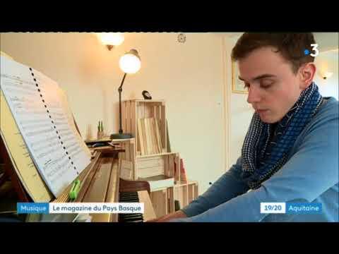 Thomas Ospital : un organiste basque à Paris.