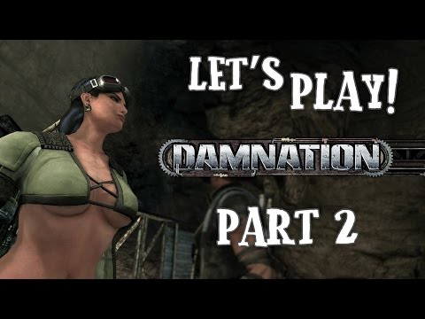 Sniffing Ass Cheeks – Damnation Gameplay Part 2