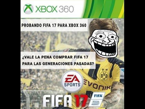 Probando Fifa 17 para Xbox 360 - Vale la pena comprar FIFA 17 para Ps3 y xbox360? Last generation