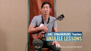 Jake Shimabukuro Teaches Ukulele Lessons: Book with Online Audio and Full-Length Online Video