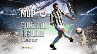 Gonzalo Higuain wins October MVP powered by EA Sports!