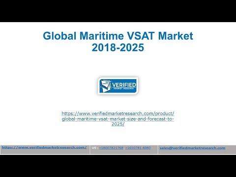 Global Maritime VSAT Industry 2018-2025