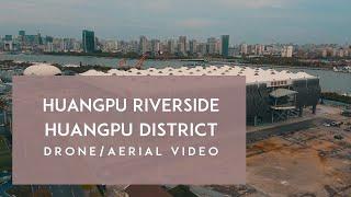 Shanghai City Drone / Aerial Video Featuring Huangpu Riverside Park DJI Mavic Mini