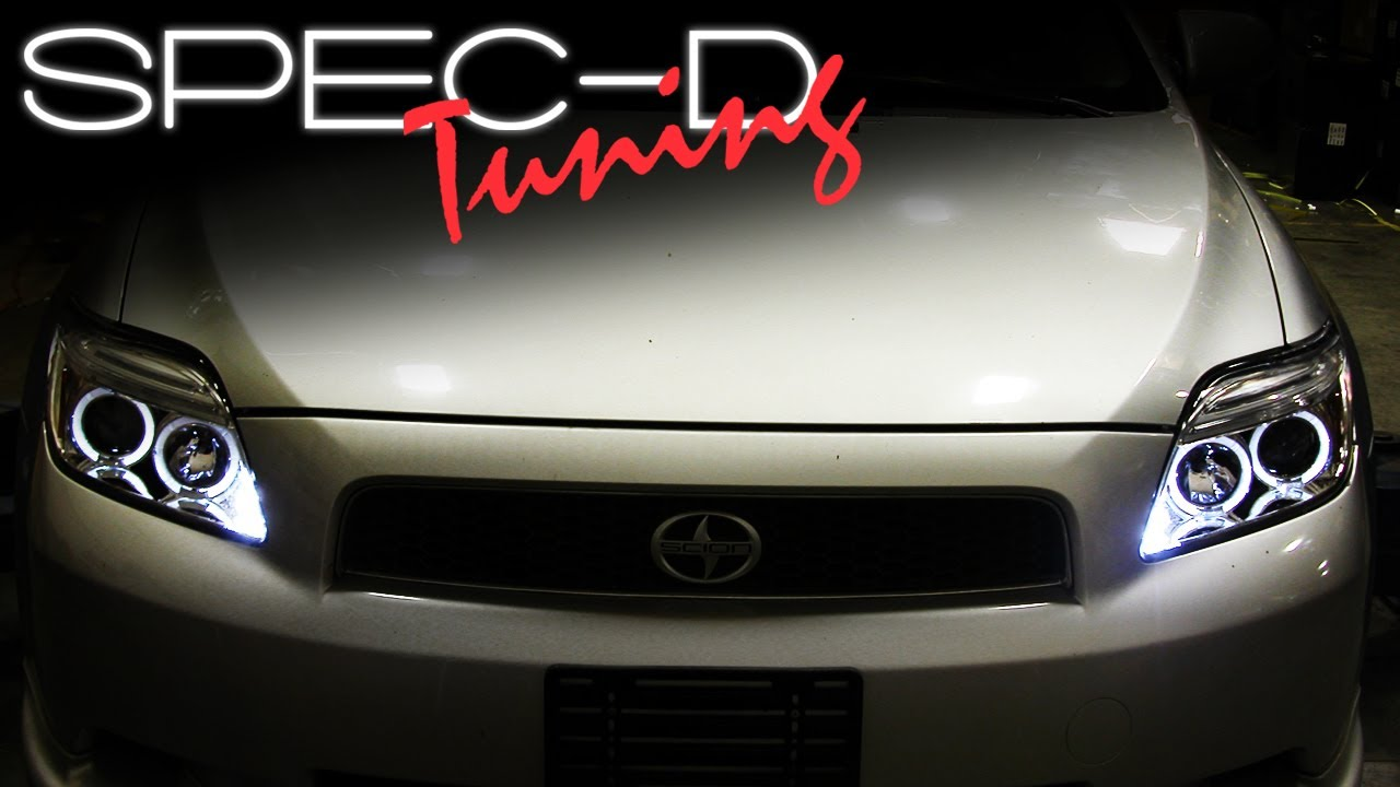 Worksheet. SPECDTUNING INSTALLATION VIDEO 20052009 SCION TC HEAD LIGHTS