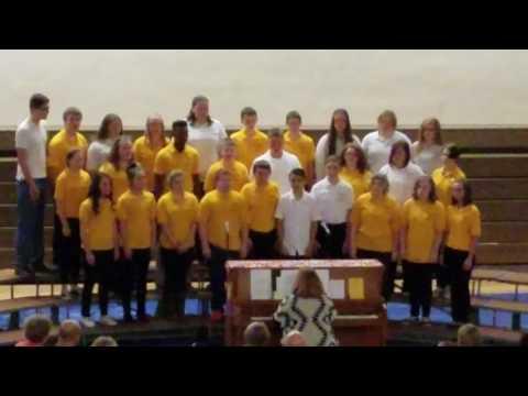 "East Prairie Middle School 7th & 8th Grade Choir performing ""Dance, Dance, Dance"""