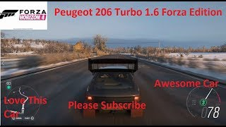 Forza Horizon 4-Peugeot 206 Turbo 1.6 Forza Edition Gameplay