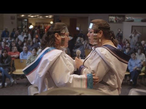 Inuit throat-singing sisters from Canada