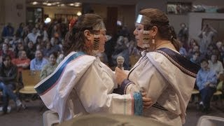 Karin and Kathy Kettler, the Canadian throat-singing sisters who to...