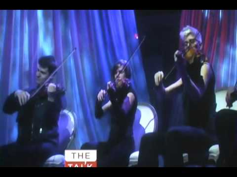 Beautiful by Linda Perry on The Talk 5/08/12