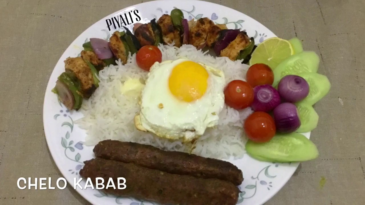 Chelo Kabab Peter Cat Style Chelo Kebab Durga Puja Special Dinner Recipe