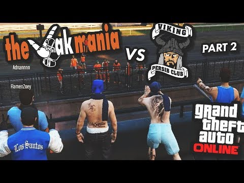 VIKING VS JAKMANIA - GTA: Online Part 2