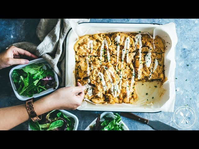 Chicken Recipe - How to Make Whole30 Baked Buffalo Chicken Casserole