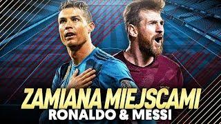 ZAMIANA MIEJSCAMI | LIONEL MESSI 🔄 CRISTIANO RONALDO | FIFA 18