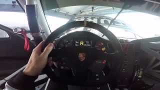 GoPro: 2014 Porsche 911 GT3 Cup Steering Wheel Explained - Michael Lewis