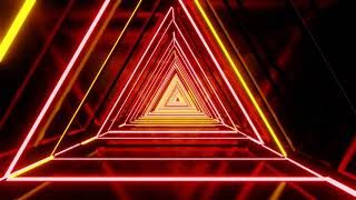 VJ LOOPS NEON  Abstract Background Video 4k  vj loop 4k free  Colorful Triangle Background  hd