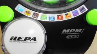 Brutalny test odkurzacza z filtrem wodnym MPM BORA MOD-07 2400W