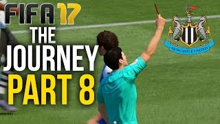 Video FIFA 17 THE JOURNEY Gameplay Walkthrough Part 8 - RED CARD (Newcastle) #Fifa17 download MP3, 3GP, MP4, WEBM, AVI, FLV Desember 2017