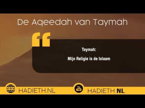 De Aqeedah van Moslimkind Taymah