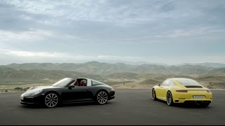 The new 911 Carrera 4 & Targa 4 models. Ever ahead.
