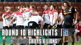 ROUND 10 HIGHLIGHTS - Chiefs v Lions - 2019