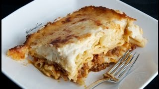 Baked Macaroni (makarooni Alfoorno) معكرونة بالباشميل