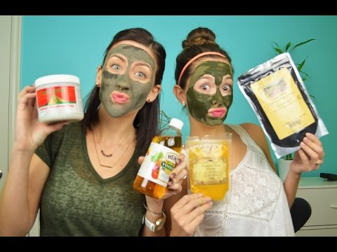 DIY Clay, Tumeric and Charcoal Face Mask