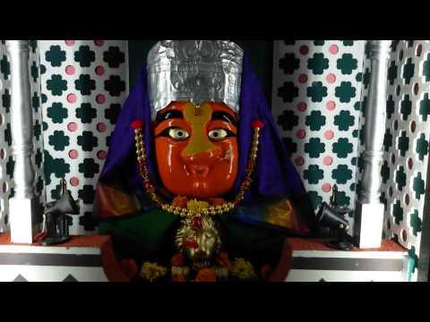 Gharguti Ganpati Decoration 2014-Mahurgad Darshan
