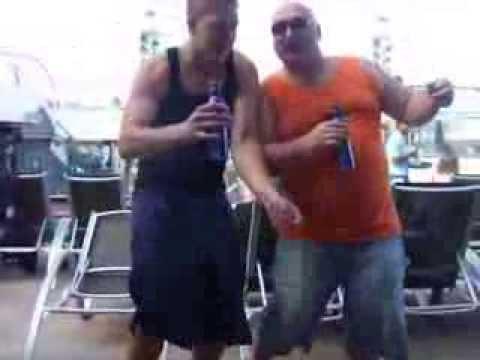 Part 4 Gary Regenscheid dancing friends kid dirty dance on a cruise ship part 4 for FUN! thumbnail