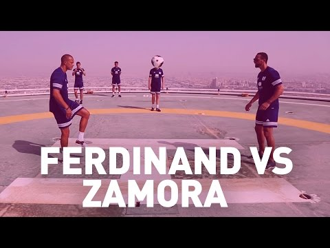 Bobby Zamora vs Rio Ferdinand | TALKIN' TWO TOUCH