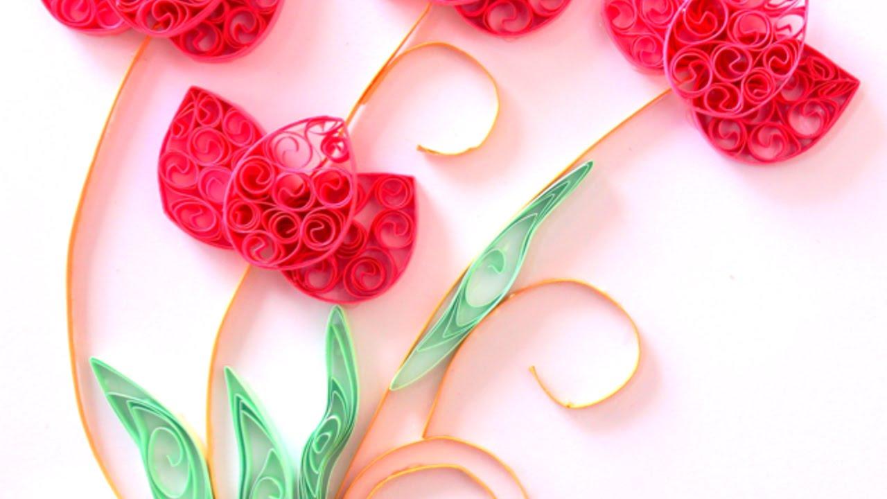 Quilling Fleur Simple