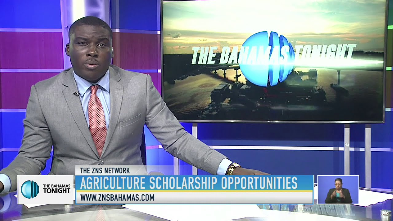 BHAMAS ZNS NEWS COVERAGE AGRICULTURE SCHOLARSHIP OPPORTUNITIES - Certificate in Smart Farming