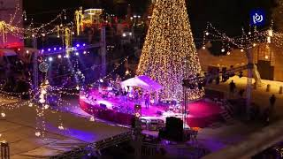 مسيحيو الأرض المقدسة يقيمون قداس منتصف الليل في كنيسة المهد  - (24-12-2018)
