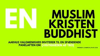 En muslim, en kristen og en buddhist (debat)