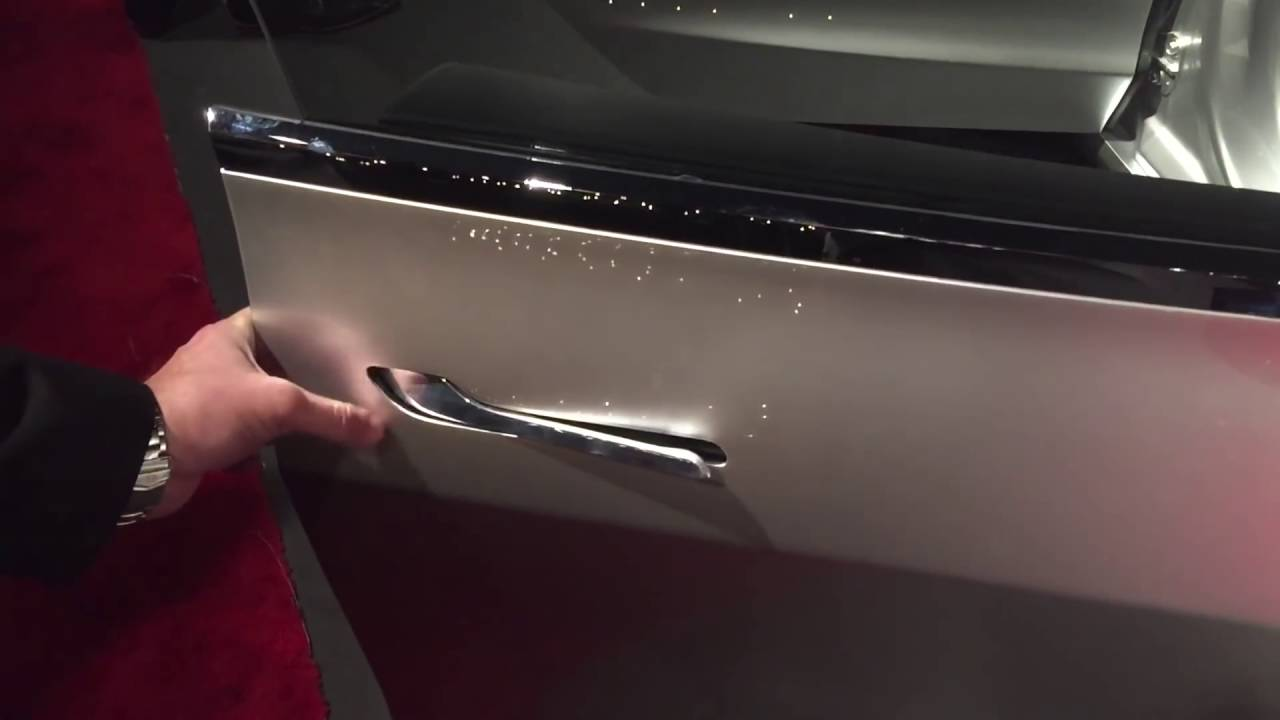 Tesla Model 3 Door Handle In Action Youtube