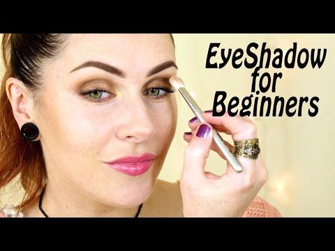 eyeshadow for beginners tips tricks  application  youtube