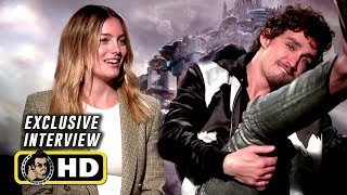 Robert Sheehan & Leila George Exclusive MORTAL ENGINES Interview