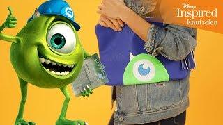 Disney Inspired - Knutselen: Monsters, Inc. Mike Wazowski Tas - Disney NL