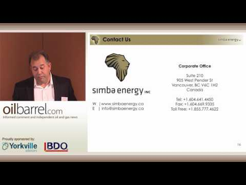 54th Oilbarrel Conference - Simba Energy - Hassan Hassan, Managing Director -- Operations - 13/9/12