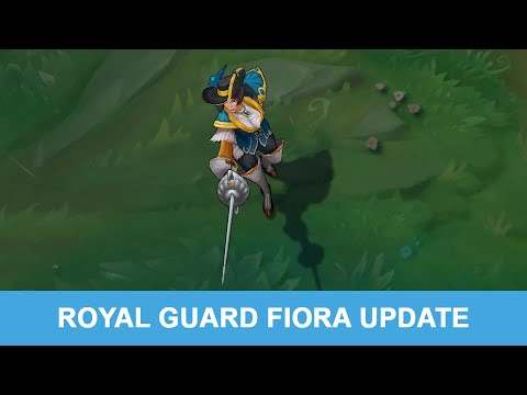 LOL PBE 7/21/2015: Royal Guard Fiora Update Preview