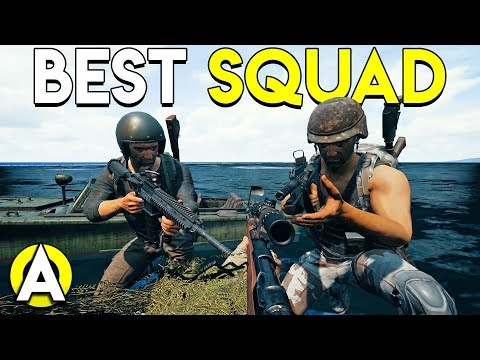 BEST SQUAD (Not Really) - PUBG Stream Highlights