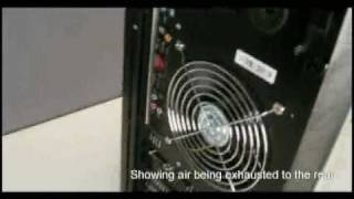 demonstration of positive air pressure design in pc chassis